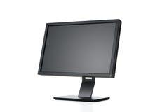 Monitor do computador com trajeto Fotos de Stock