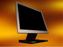 Monitor do ecrã plano Imagens de Stock