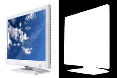 Monitor do LCD Imagens de Stock Royalty Free