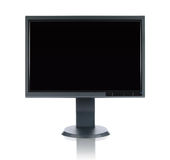 Monitor do LCD imagem de stock royalty free