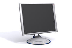 Monitor do Lcd Fotografia de Stock Royalty Free