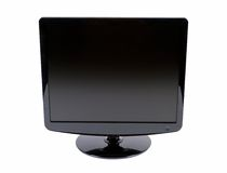 Monitor do LCD Imagens de Stock Royalty Free