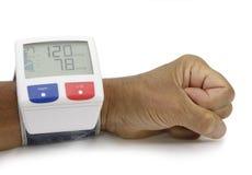 Monitor do presure do sangue Imagem de Stock Royalty Free