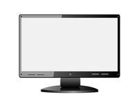 Monitor em branco Foto de Stock Royalty Free