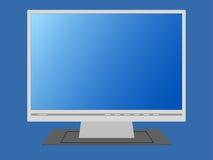 Monitor en blanco. Foto de archivo