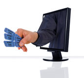 Monitor Entertainment Royalty Free Stock Image