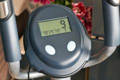 Monitor of a Exercise Machine Stock Photos