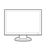 Monitor front line Royalty Free Stock Images
