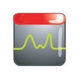 Monitor icon Stock Image