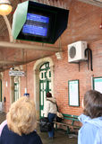 monitor informacji Zdjęcie Stock