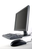 monitor klawiaturowa mysz obrazy stock