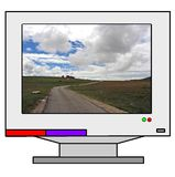 monitor komputera Obrazy Stock