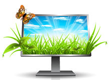 Monitor Royalty Free Stock Image