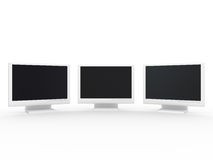 Monitor lcd Royalty Free Stock Photography
