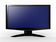 Monitor lcd, 3d illustration. Stock Photo