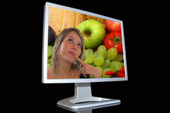 Monitor LCD Stock Images