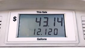 Monitor LCD del combustible del depósito de gasolina
