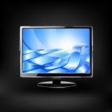 Monitor LCD del vector Fotografía de archivo