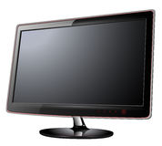 Monitor lcd, tv Stock Image