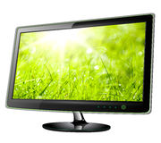 Monitor lcd, tv Royalty Free Stock Image