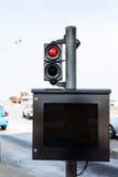 Toll-fee monitor Stock Photos