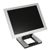 Monitor liso do LCD Imagens de Stock Royalty Free
