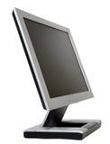 Monitor liso do LCD Imagens de Stock