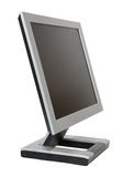 Monitor liso do LCD Imagem de Stock Royalty Free