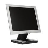 Monitor liso do LCD Foto de Stock Royalty Free