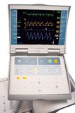 Monitor met intraaortic balloncounterpulsator Royalty-vrije Stock Afbeeldingen