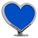 monitor miłości. Zdjęcie Stock