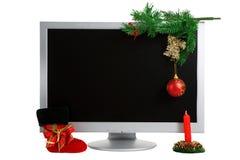 Monitor moderno. fotos de stock royalty free