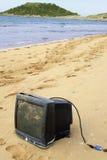 Monitor na brzeg Fotografia Royalty Free