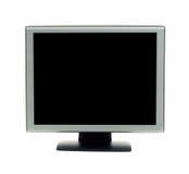 Monitor op Wit stock foto