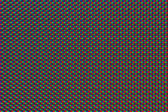 Monitor pixel. Macro detail from computer monitor royalty free stock image