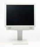 Monitor plano de la PC fotografía de archivo libre de regalías