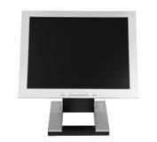 Monitor plano del LCD Fotografía de archivo libre de regalías