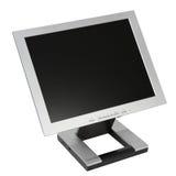 Monitor plano del LCD Imágenes de archivo libres de regalías