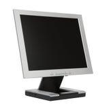 Monitor plano del LCD Foto de archivo libre de regalías
