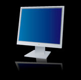 Monitor reflect Royalty Free Stock Image
