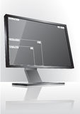 Monitor resolution size Stock Photos