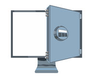 Monitor safe Stock Images