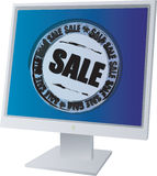 MONITOR SALE Royalty Free Stock Images