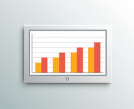 Monitor screen business element Stock Photo