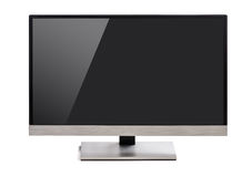 Monitor  with screen glare Royalty Free Stock Image