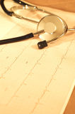 monitor serca Fotografia Stock