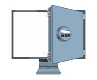 Monitor skrytka Obrazy Stock