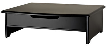 Monitor Stand with Drawer Stock Images