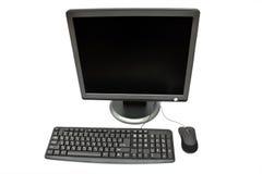 Monitor, teclado e rato Fotos de Stock