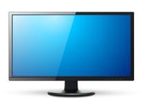 Monitor TV 3D icon Royalty Free Stock Photo